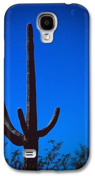 Cactus And Moon Galaxy S4 Case