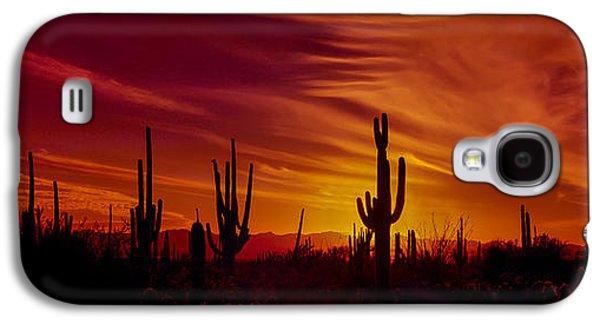 Cactus Glow Galaxy S4 Case