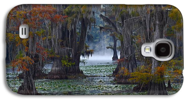 Caddo Lake Morning Galaxy S4 Case by Snow White