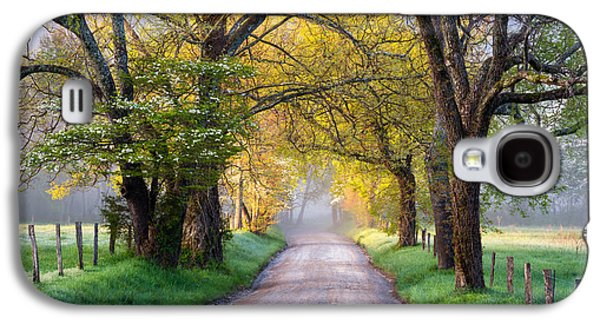 Cades Cove Great Smoky Mountains National Park - Sparks Lane Galaxy S4 Case by Dave Allen