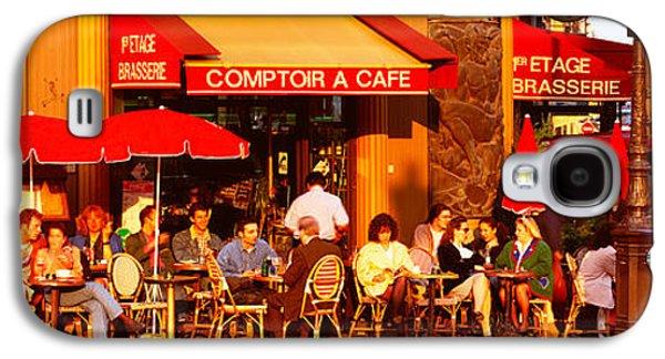 Cafe, Paris, France Galaxy S4 Case