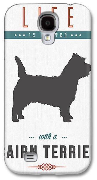 Cairn Terrier 01 Galaxy S4 Case