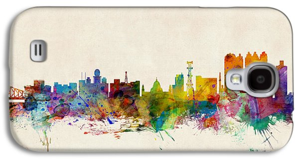 Calcutta India Skyline Galaxy S4 Case