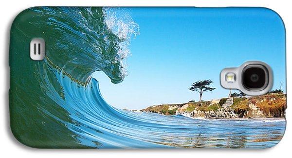 California Curl Galaxy S4 Case by Paul Topp