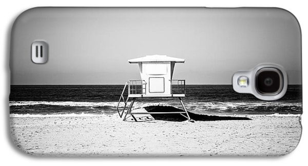California Lifeguard Tower Black And White Picture Galaxy S4 Case