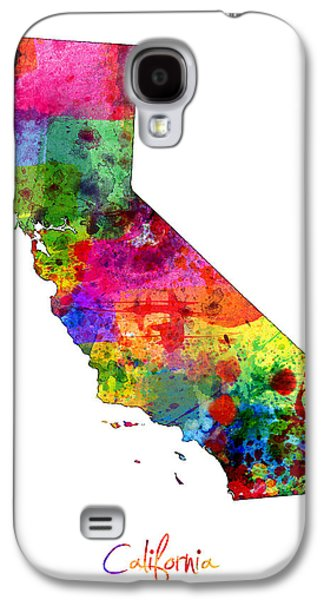 California Map Galaxy S4 Case