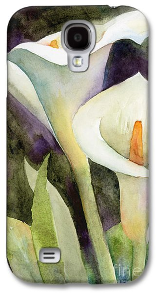 Lily Galaxy S4 Case - Calla Lilies by Amy Kirkpatrick