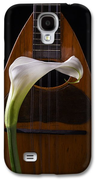 Lily Galaxy S4 Case - Calla Lily And Mandolin by Garry Gay