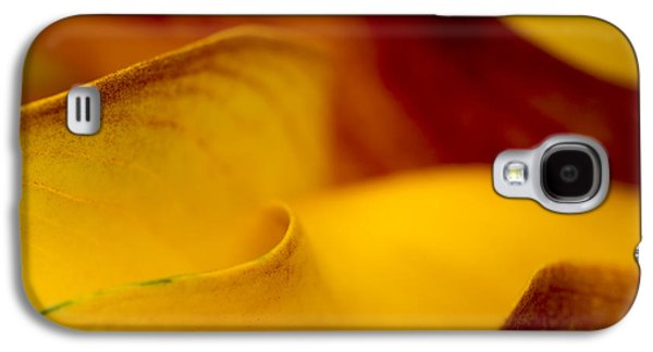 Calla Lily Waves Galaxy S4 Case by Sebastian Musial
