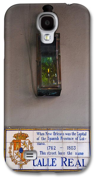 Calle Real - New Orleans Galaxy S4 Case