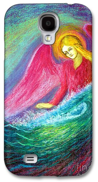 Calming Angel Galaxy S4 Case by Jane Small