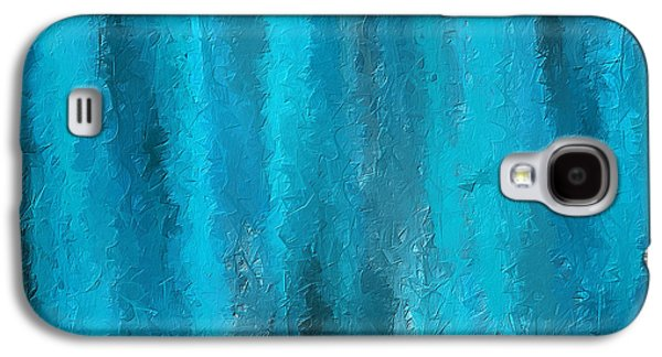 Calming Visuals-turquoise Art Galaxy S4 Case