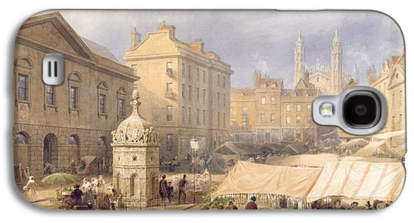 Cambridge Market Place, 1841 Galaxy S4 Case