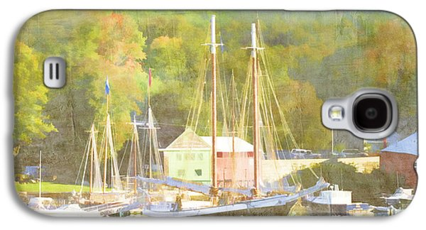 Camden Harbor Maine Galaxy S4 Case