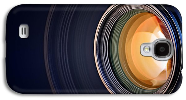 Camera Lens Background Galaxy S4 Case by Johan Swanepoel