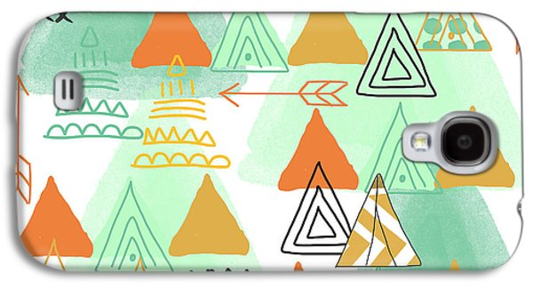 Camping Galaxy S4 Case by Linda Woods