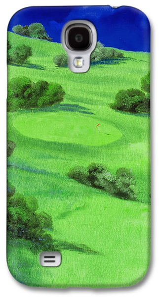 Campo Da Golf Di Notte Galaxy S4 Case