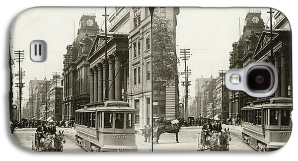 Canada Montreal, 1908 Galaxy S4 Case by Granger
