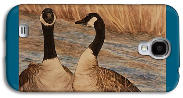 Canadian Geese Galaxy S4 Case by Michelle Miron-Rebbe