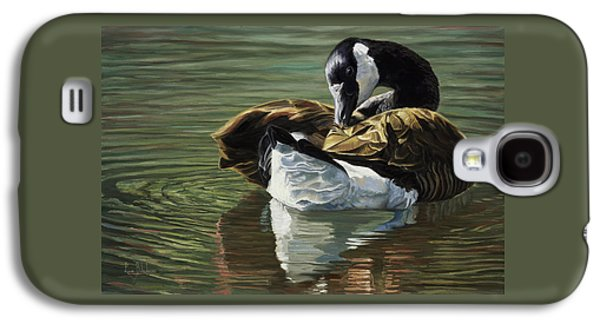 Goose Galaxy S4 Case - Canadian Goose by Lucie Bilodeau