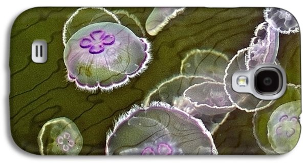 Canadian Moon Jelly Dance Galaxy S4 Case by Artist and Photographer Laura Wrede