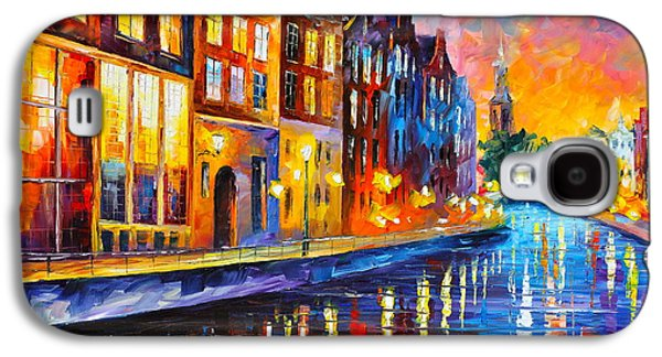 Canal In Amsterdam Galaxy S4 Case