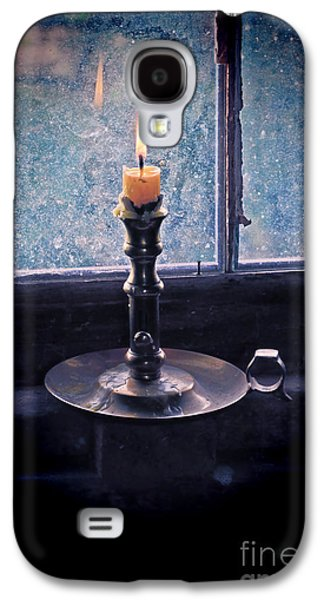 Candle In The Window Galaxy S4 Case by Jill Battaglia