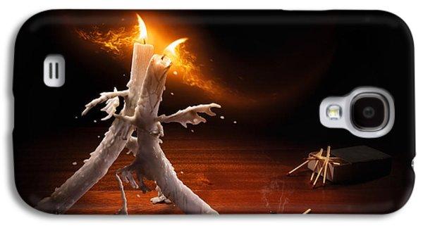 Candlelight Tango Galaxy S4 Case