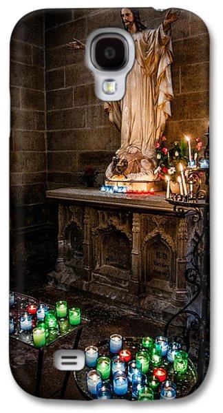Candlelit Altar Galaxy S4 Case by Nigel R Bell