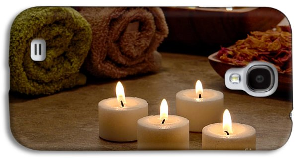 Candles In A Spa Galaxy S4 Case