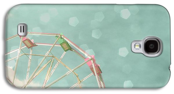 Candy Wheel Galaxy S4 Case by Cassia Beck