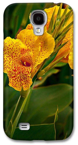 Canna Blossom Galaxy S4 Case