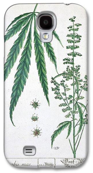 Cannabis Galaxy S4 Case