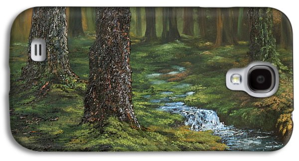 Cannock Chase Forest Galaxy S4 Case by Jean Walker