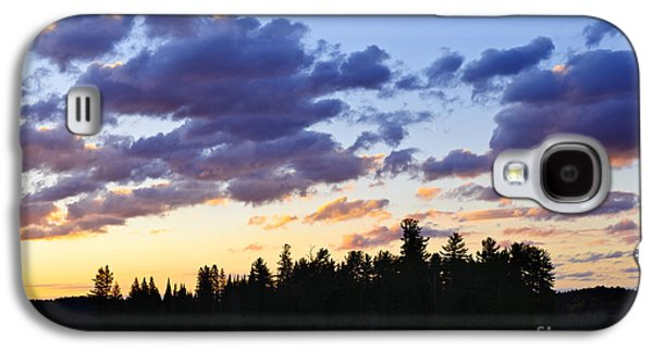 Canoeing At Sunset Galaxy S4 Case by Elena Elisseeva