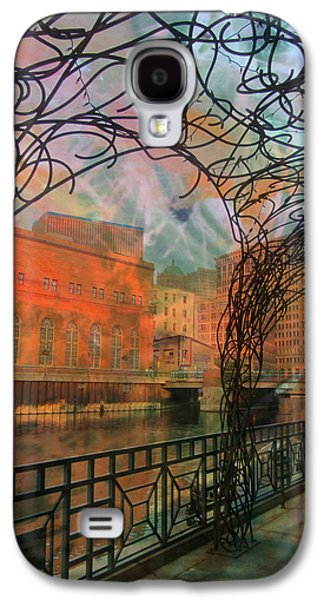 Canopy Riverwalk And Abstract Painting Galaxy S4 Case