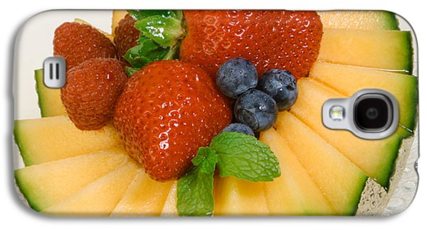 Cantaloupe Breakfast Galaxy S4 Case by Iris Richardson