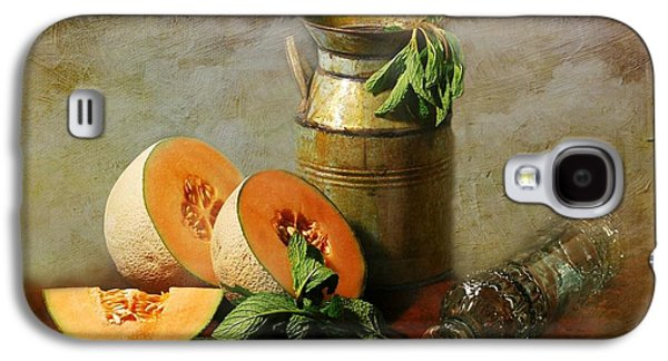 Cantaloupe Galaxy S4 Case by Diana Angstadt