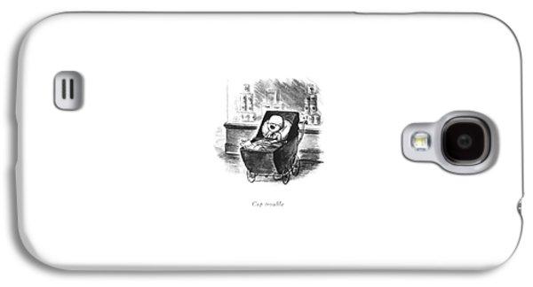 Cap Trouble Galaxy S4 Case