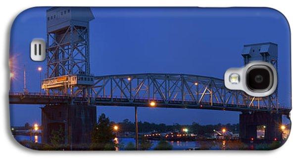 Cape Fear Memorial Bridge - Wilmington North Carolina Galaxy S4 Case