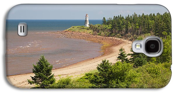 Cape Jourimain Lighthouse In New Brunswick Galaxy S4 Case by Elena Elisseeva