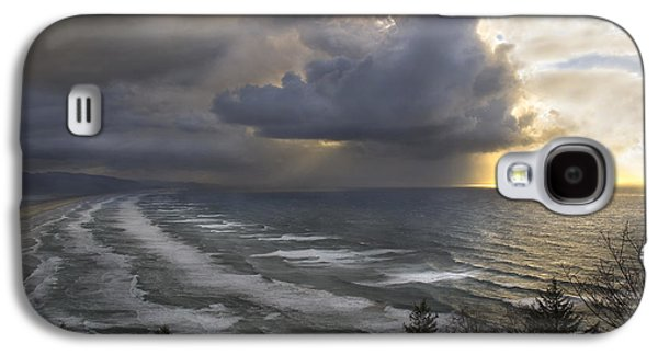 Sunset At Cape Lookout Oregon Coast Galaxy S4 Case