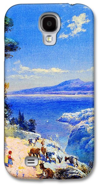 Cape Miseno With Castelamane Beyond Galaxy S4 Case by Celestial Images