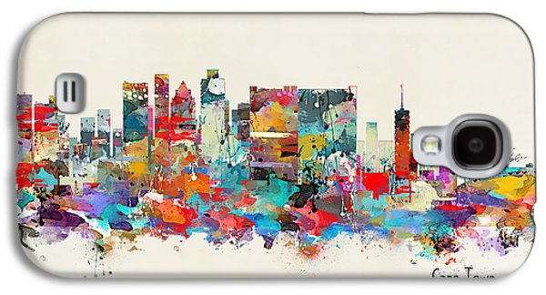 Town Galaxy S4 Case - Cape Town South Africa Skyline by Bri Buckley