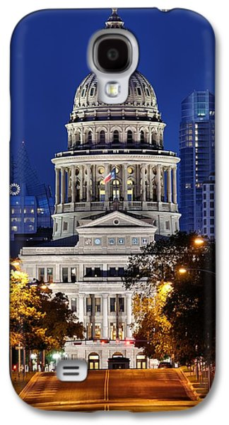 Capitol Of Texas Galaxy S4 Case by Silvio Ligutti