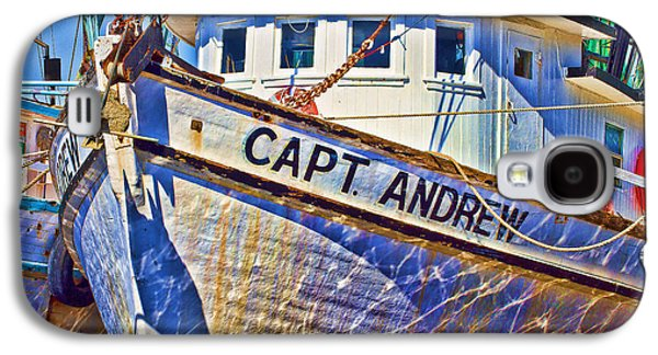 Capt Andrew Shrimper Galaxy S4 Case by Bill Barber