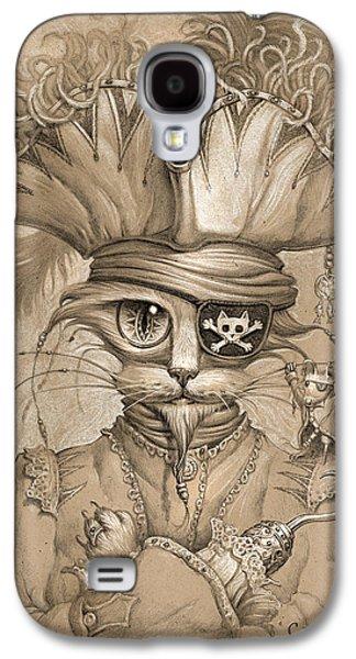 Captain Claw Galaxy S4 Case by Jeff Haynie