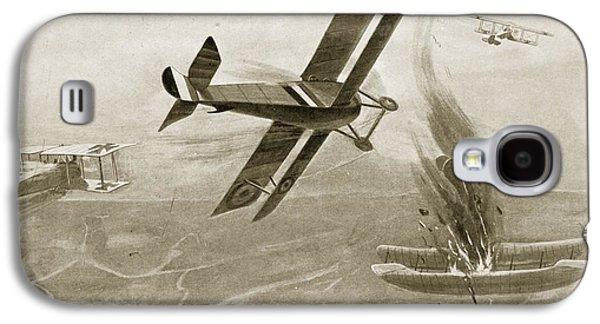 Captain Hawkers Aerial Battle Galaxy S4 Case