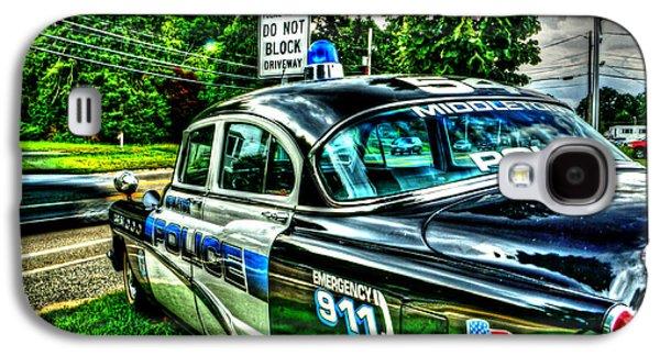 Car 54 004 Galaxy S4 Case by Jeff Stallard