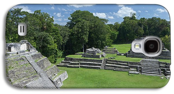 Caracol Ancient Mayan Site, Belize Galaxy S4 Case by William Sutton
